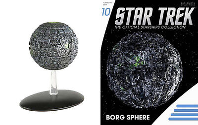 STAR TREK Official Starships Magazine #10 BORG SPHERE Eaglemoss
