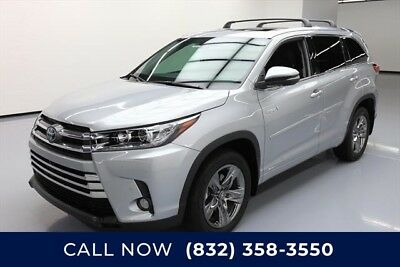 Toyota Highlander AWD Limited Platinum 4dr SUV Texas Direct Auto 2018 AWD Limited Platinum 4dr SUV Used 3.5L V6 24V Automatic