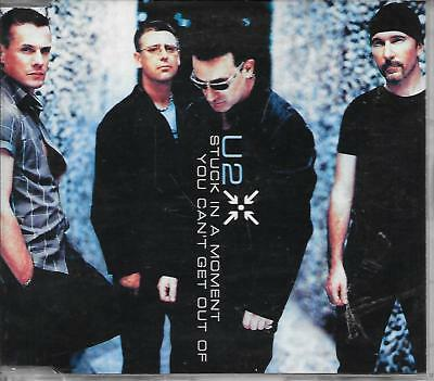 U2 - Stuck in a moment you can't get out of CDM 4TR (AUSTRALIA RELEASE) 2001