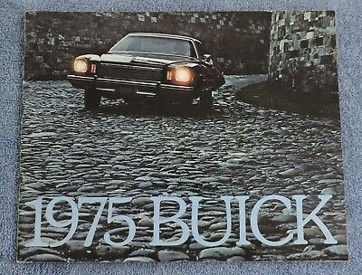 1975 Buick Full Line Sales Brochure