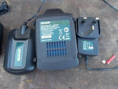 18v qualcast battery and charger replacement strimmer hedge