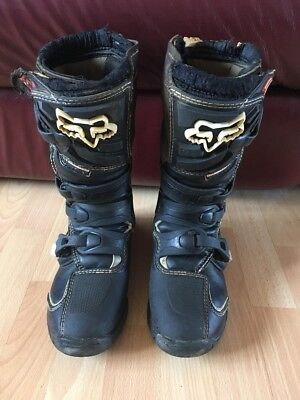 Fox Comp 5 youth Motocross boots UK 6 / 39