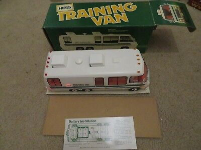 1978 Hess White Training Van Works with Box and Inserts See My Store