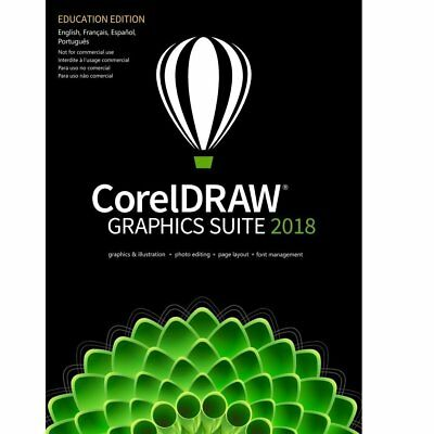 CorelDRAW Graphics Suite 2018 Education Edition