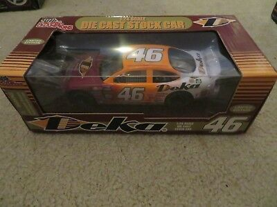 Racing Champions Deka Diecast Stock Car #46 1:24 Scale MIB  See My Store