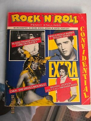 """""""Rock 'n' Roll Confidential"""" by Penny Stallings 1985  (A)"""