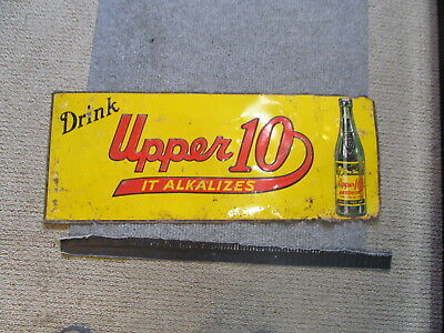 Drink Upper 10 Lime - Lemon Soda It Alkalizes ( Pickes You Up ) Donaldson Sign