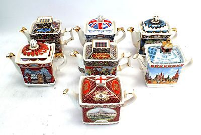 Collection Of x7 SADLER Decorative Whimsical Teapots / UNBOXED - A11