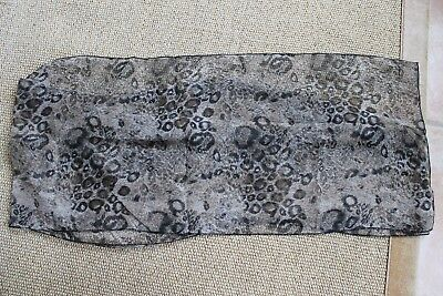 Nikki Sixx Owned Worn & Used Motley Crue Scarf COA Donna D'Errico SIXX AM