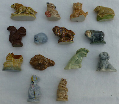 Fourteen WADE Whimsies 2 NURSERIES, BABY HIPPO + 11 ANIMALS