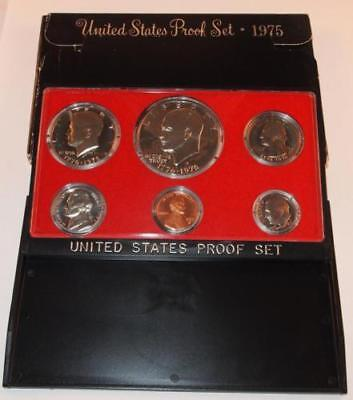 1975 - S US PROOF SET WITH ORIGINAL PACKAGE  6 coin set