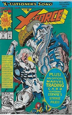 X-Force No.18 / 1993 X-Cutioner´s Song Part 12 / OVP mit Trading Card
