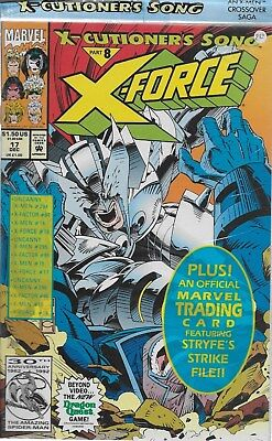 X-Force No.17 / 1992 X-Cutioner´s Song Part 8 / OVP mit Trading Card