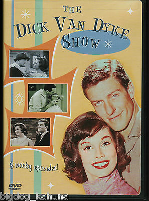 The Dick Van Dyke Show 3 Episodes (DVD, 2003) Mary Tyler Moore