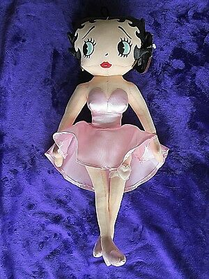 Betty Boop Doll, W-Tag, Collectable, 1999, Kellytoy                       Drpt 7