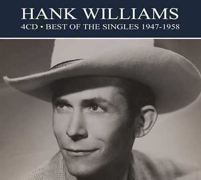 Hank Williams BEST OF THE SINGLES 1947-1958 Remastered NEW SEALED 4 CD