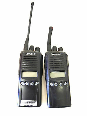 Lot Of 2 Kenwood Tk-3180 K Uhf Two Way Radio - Working - No Battery / Charger