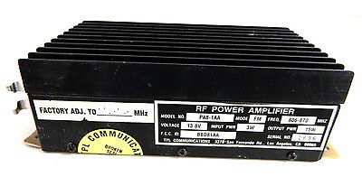 TPL Communications 806-870 MHz RF Power Amplifier PA8-1AA 13.8V