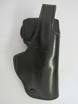 Ted Blocker Holsters Inc SP100 225 Duty Holster Black Leather -Missing Screw