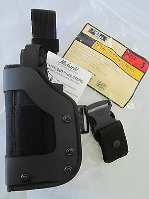 Uncle Mike's Dual Retention Tactical Holster 9905-2, Size 5 Left Hand
