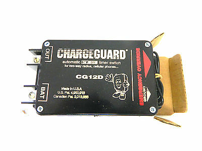 ChargeGuard Timer Switch Automatic On/Off for 2-Way Radios PN: CG12D