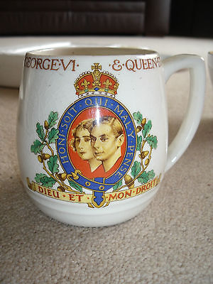King George Vi 1937 Coronation Mug