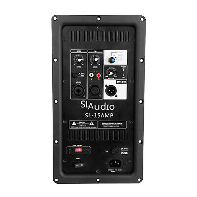SL Audio, Plate Amplifier, Digital, 2 Way, 700W