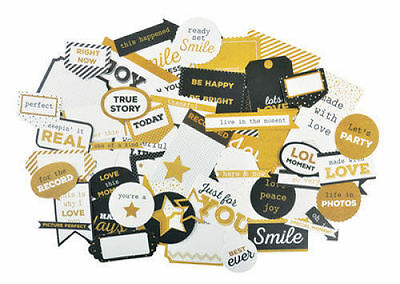 *A&B* KAISERCRAFT Scrapbooking Collectables A Touch of Gold - CT834