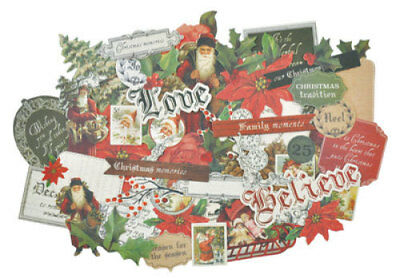 *A&B* KAISERCRAFT Scrapbooking Collectables - Letters To Santa - CT890