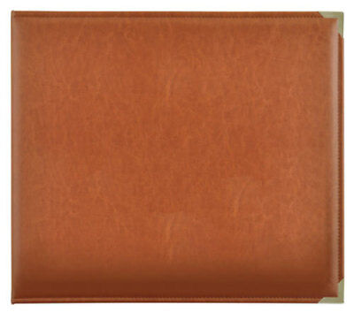 *A&B* KAISERCRAFT Scrapbooking D-Ring Photo Album - PU Leather - Tan