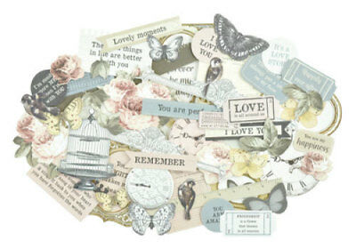 *A&B* KAISERCRAFT Scrapbooking Collectables - Romantique - CT894