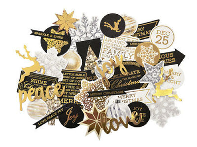 *A&B* KAISERCRAFT Scrapbooking Collectables Glisten CT865 - LIMITED STOCK