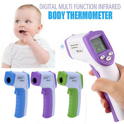 Digital LCD Non-contact IR Infrared Thermometer Forehead Body Temperature Tester