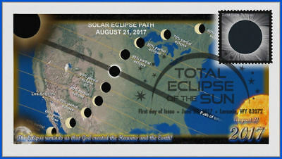 Solar Eclipse (5211) First Day Cover 2017 #014