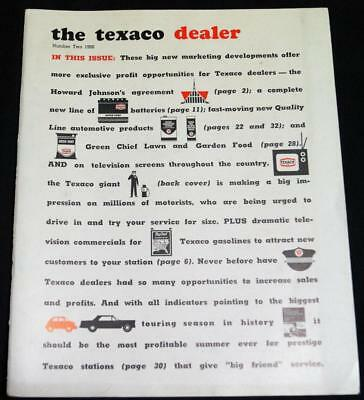 The Texaco Dealer Magazine Issue #2 1966 Texaco Oil Service Station Owners News