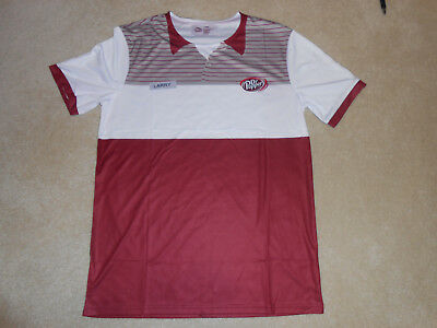 NEW Without Tag DR PEPPER Larry Culpepper Vendor Shirt T-Shirt, Sz Large, BNWOT
