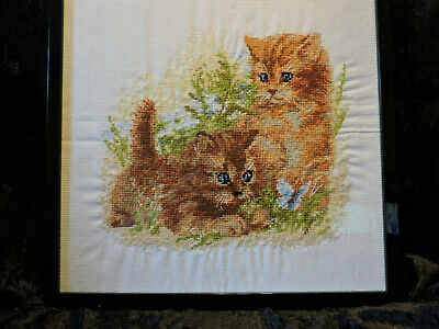 Cross Stitch Designs Various Patterns Completed Framed NEW larger sizes