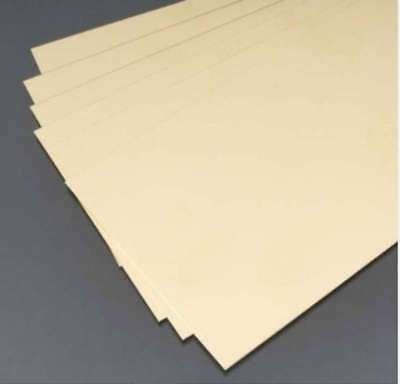 alloy 260 brass sheet metal strips brass sheet,0.005 x 4 x 10 in, 614121002500