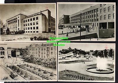 118448 13 AK Bukarest Bucuresti 1954 Theater Stalin Platz Botanischer Garten ...