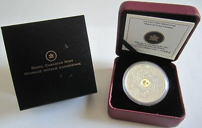 Kanada 15 Dollars 2012 Maple of Good Fortune 1 Oz Silber