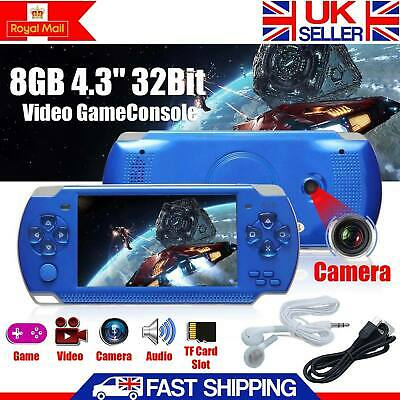 """4.3"""" 32Bit Handheld Video Game Built-In 10000 Games 8GB Portable Console Player"""