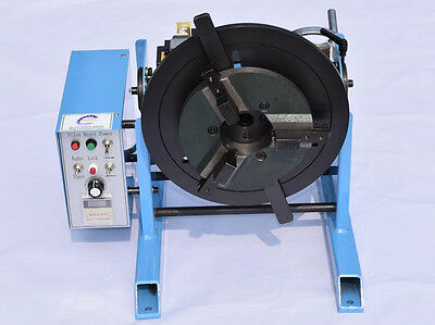 100KG 140mm Welding Positioner Turntable Timing Function, With 300mm Chuck 220V
