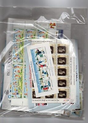 Isle of Man £214 worth of face postage under face value