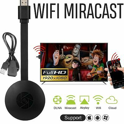 New HD1080P Wireless WIFI Display Dongle Adapter HDMI Miracast DLNA TV Stick