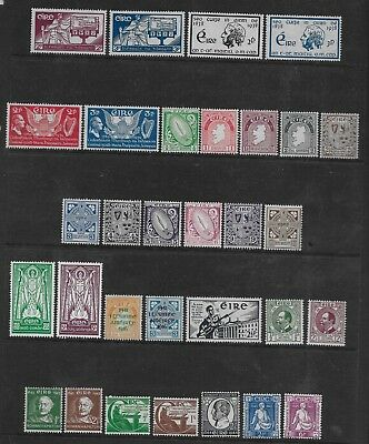 Ireland  Gvi Period Coll. Of Mint1937/48 Between Sg 105 & 145  Fine/very Fine