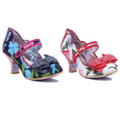 Irregular Choice Balmy Nights Donna Mary Jane Sandali con Cinturino Alla Cavigli