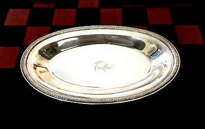 International PRELUDE Sterling Oval Tray 265g