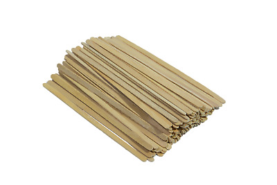 "High quality wooden stirrers sticks for coffee tea hot drinks 7.5"" or 5.5"" UK"