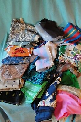Miscellaneous Scarf Lot Variety Of Sizes Over 30 Scarves