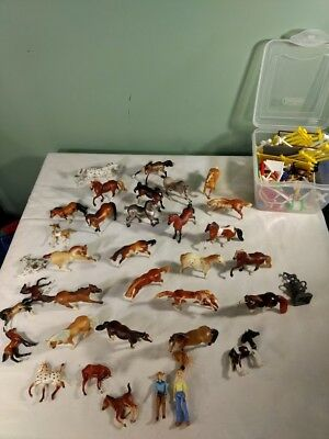 Huge Lot Breyer Stablemates & Ponies Shelf Quality Not Perfect